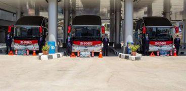 «قطاع الأعمال»: استلام 20 أتوبيسا ضمن صفقة هيكلة قطاع النقل