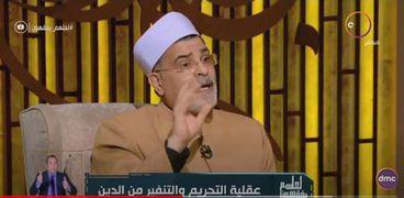 الدكتور محمد سالم أبو عاصي، عميد كلية الدراسات الأسبق بجامعة الأزهر