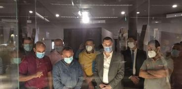 الأمين العام لللآثار يزور متحف كفر الشيخ