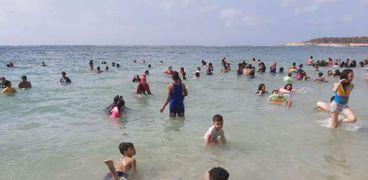 شواطئ الإسكندرية بعد الفتح بسبب فيروس كورونا