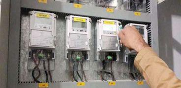 عدادات كهرباء بنظام الكارت