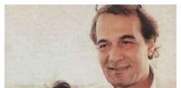 محمود ياسين وعمرو ابنه