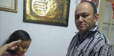 بورتريه يحمل صورة الشهيد البطل أحمد المنسي