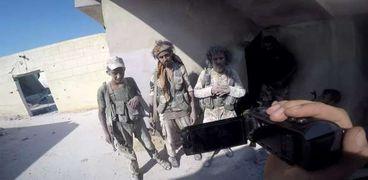 مشهد من الفيلم السورى «سكان الأرض اليباب»