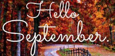 رواد مواقع التواصل يحتفلون بقدوم شهر سبتمبر وانتهاء أغسطس