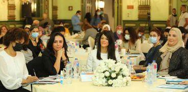 خلال احتفالية ختام برنامج إنهاء العنف ضد السيدات والفتيات