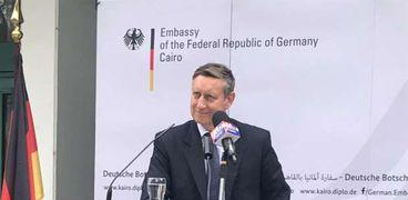 سيريل نون سفير ألمانيا بالقاهرة