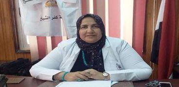 الدكتورة سوسن سلام، وكيل وزارة الصحة بكفر الشيخ
