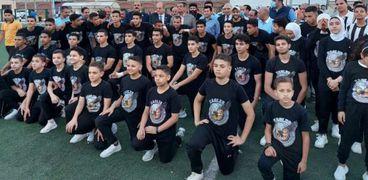 زيارة وزير الشباب والرياضة للبحيرة