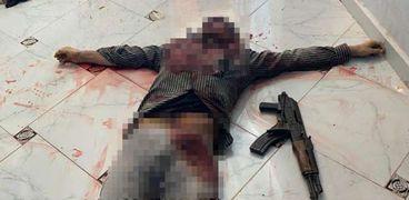 صورة أحد الارهابيين