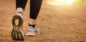 المشي والصحة العقلية