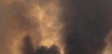 حريق القدس