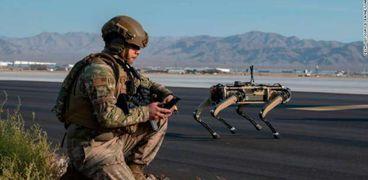 الكلاب الآلية سلاح جديد في الجيش الأمريكي