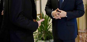 الرئيس السيسي يستقبل أنتوني بلينكن