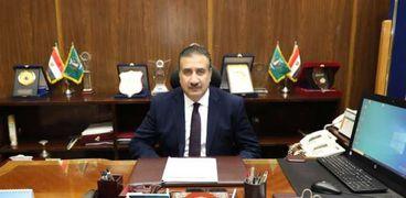 إبراهيم أحمد أبو ليمون محافظ المنوفية