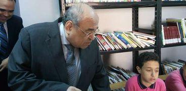 مدير مكتبة الإسكندرية يفتتح قصر الأميرة خديجة بحلوان