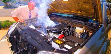 حوادث السيارات نتيجة ارتفاع درجات الحرارة