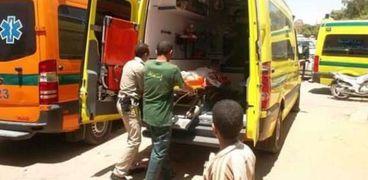 إصابة طفل في الدقهلية