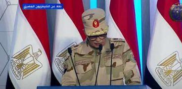 اللواء مصطفى أمين، مدير عام جهاز مشروعات الخدمة الوطنية للقوات المسلحة