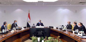 اجتماع الحكومة بشأن خدمات بوابة مصر الرقمية