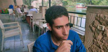 الطالب محمد محمود شيحة الحاصل على صفر في 4 مواد