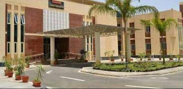 مستشفى أسيوط الجديدة الجامعى
