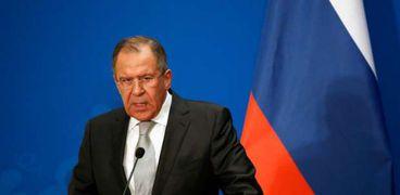 وزير الخارجية الروسي - سيرجي لافروف