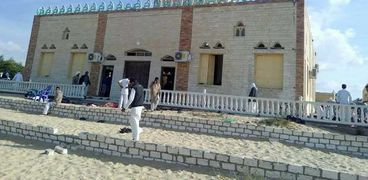 مسجد الروضة في منطقة بئر العبد