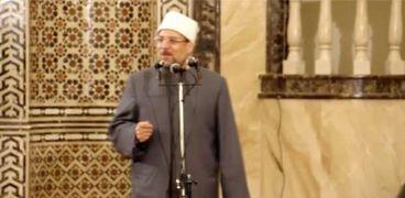 الأستاذ الدكتور محمد مختار جمعة وزير الأوقاف