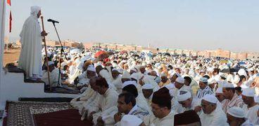 صلاة عيد الأضحى في المغرب (أرشيفية)