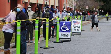 التصويت في الانتخابات الأمريكية