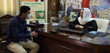 الدكتورة مروة ياسين في حوارها مع الوطن