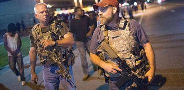 مسلحون من جماعة حراس القسم اليمينية في الولايات المتحدة