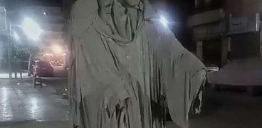 تمثال شبح في الإسماعيلية