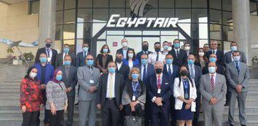 مصرللطيران تجتاز تقييم مخاطر السلامة بجميع أنشطتها نشطها