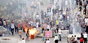 إحتجاجات إيران