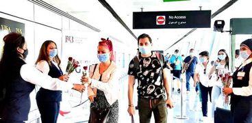 مطار القاهرة الدولي يستقبل 122 رحلة جوية خلال ال 24 ساعة القادمه