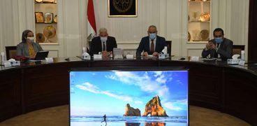 وزير الإسكان ومحافظ جنوب سيناء يتابعان استعدادات تطوير موقع «التجلي الأعظم»
