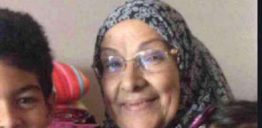 والدة المخرج محمد بكير