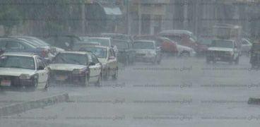 أمطار الدقهلية - أرشيفية