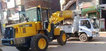 حملات نظافة مكثفة بمدن كفر الشيخ خلال أجازة عيد الأضحى