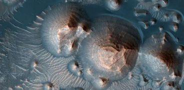 منطقة «أرض العرب» الموجودة في المريخ
