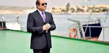 الرئيس عبدالفتاح السيسي رئيس جمهورية مصر العربية