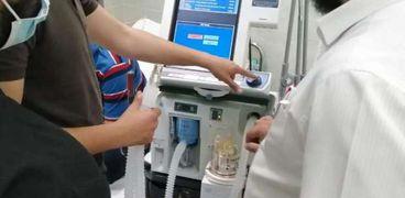 جهاز أكسجين بمستشفى الغردقة العام