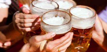 الكحوليات تسبب 5 أنواع من السرطان