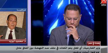 الدكتور محمود أبو زيد، رئيس المجلس العربي للمياة