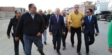 جولة نائب محافظ القاهرة