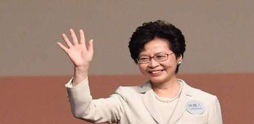 رئيسة السلطة التنفيذية في هونج كونج كاري لام