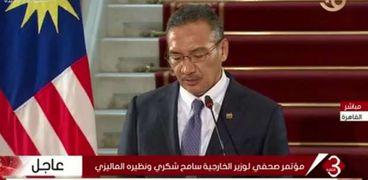 وزير الخارجية الماليزي هشام الدين حسين
