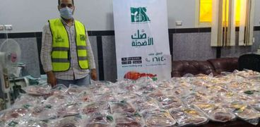 محافظة سوهاج : ذبح وتوزيع لحوم 153 رأس ماشية خلال عيد الاضحي